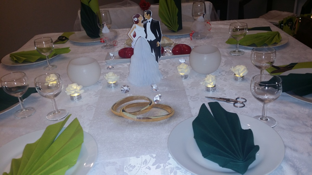 Claudia: Decoration de table